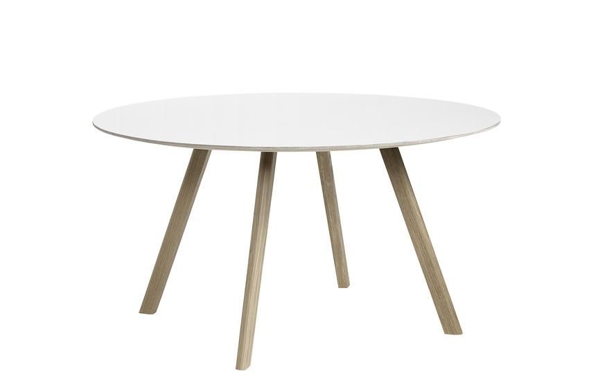 HAY Tisch CPH 25 Laminat weiß / Eiche