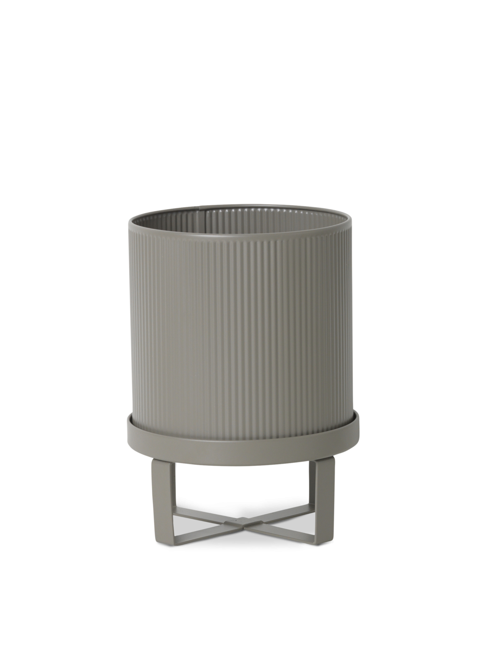 ferm living Bau Pot grey small
