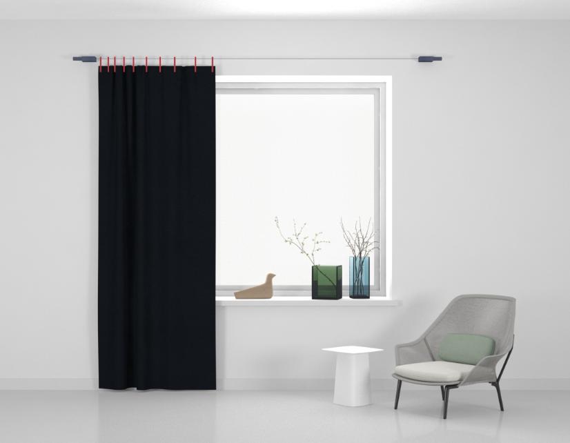 Kvadrat Ready made curtain Stoff Frozen 710