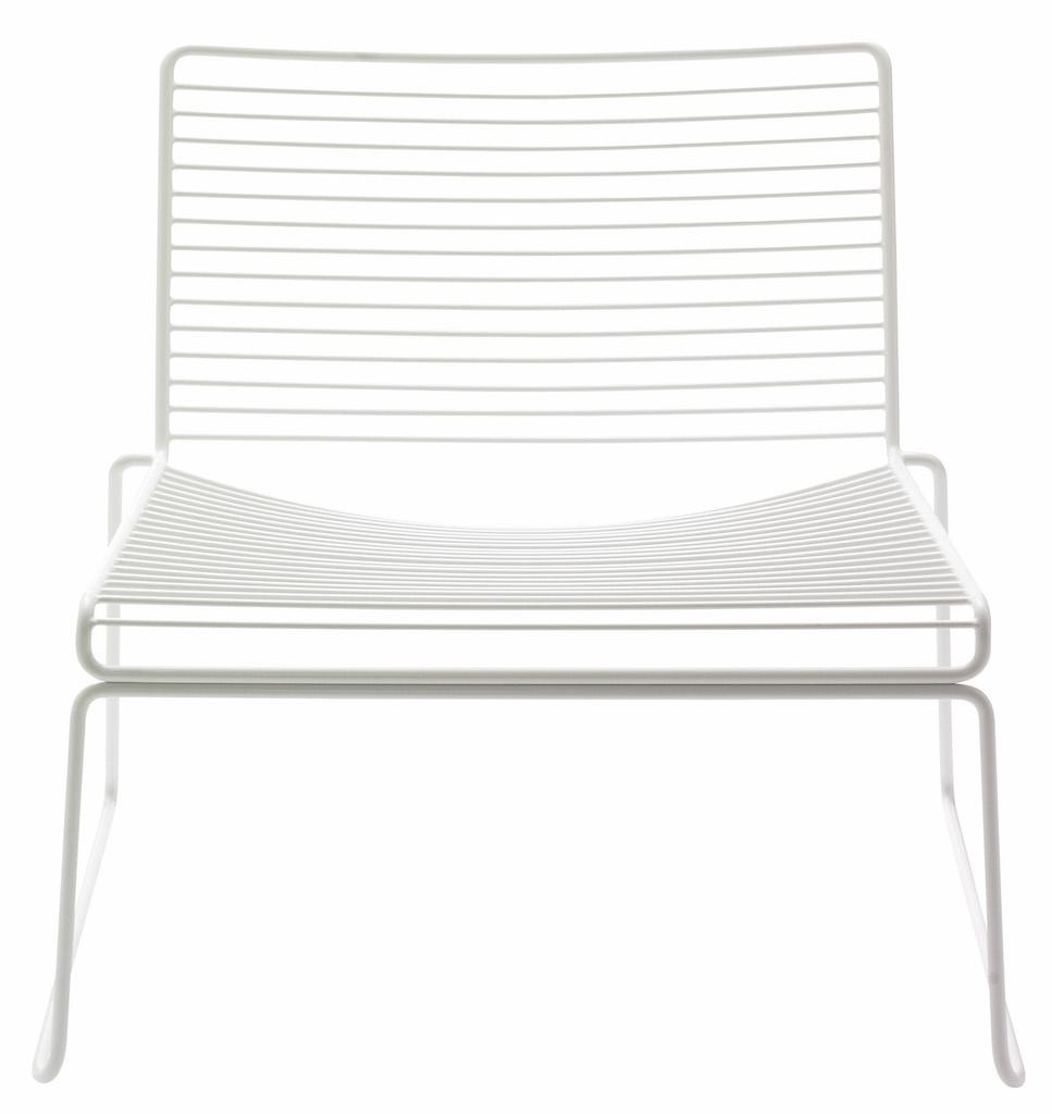 Hay HEE Lounge Stuhl White