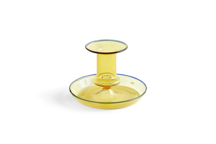 HAY Flare Kerzenständer yellow