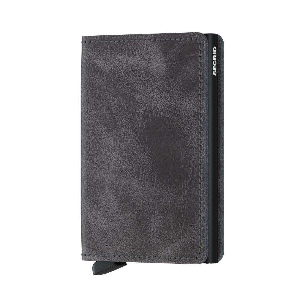Secrid Slimwallet Vintage grey black