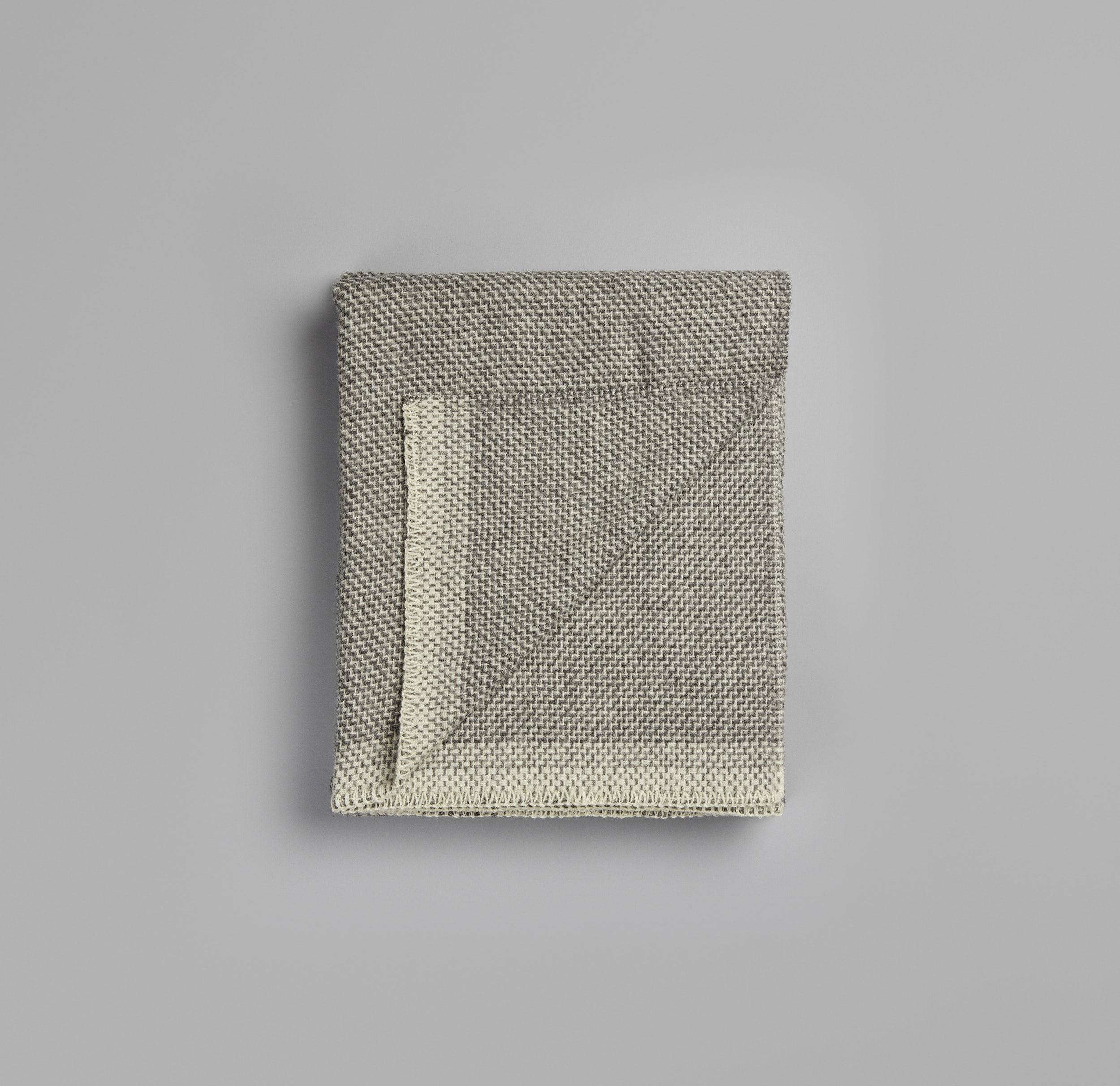 Røros Tweed Decke Una grau