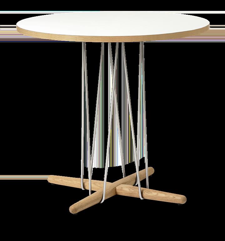 Carl Hansen & Søn E020 Embrace Table weiß | Eiche geölt