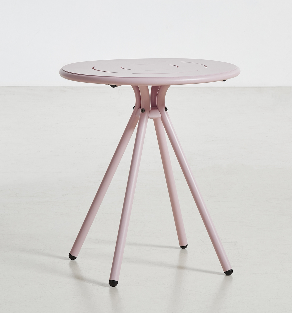 Woud Ray Café Table rund rosé