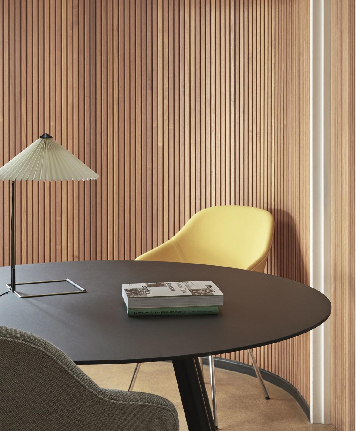 HAY Tisch CPH 25 Linoleum grau / Eiche