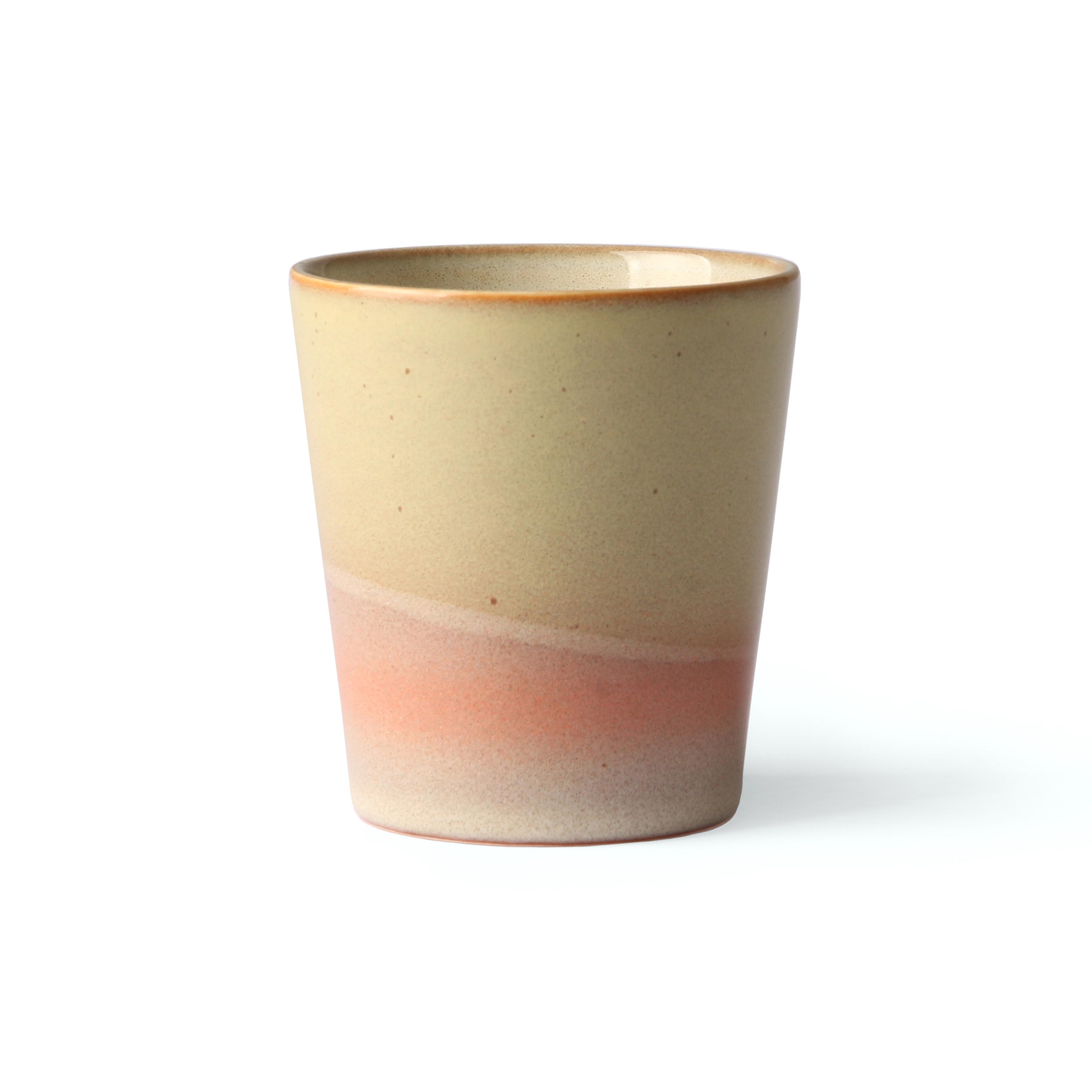 HK Living Ceramic 70's Becher Venus