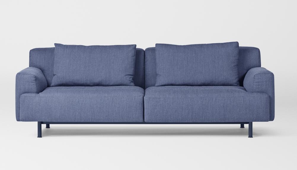 Million Copenhagen Plenty Sofa 3 Seater denim blue -Ausstellungstück-