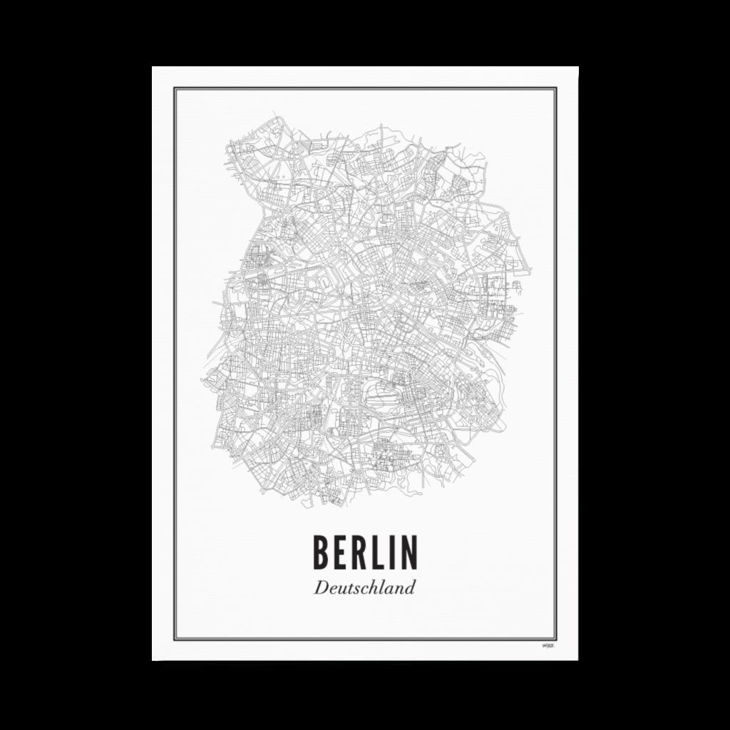 Wijck Poster Berlin 40x50cm