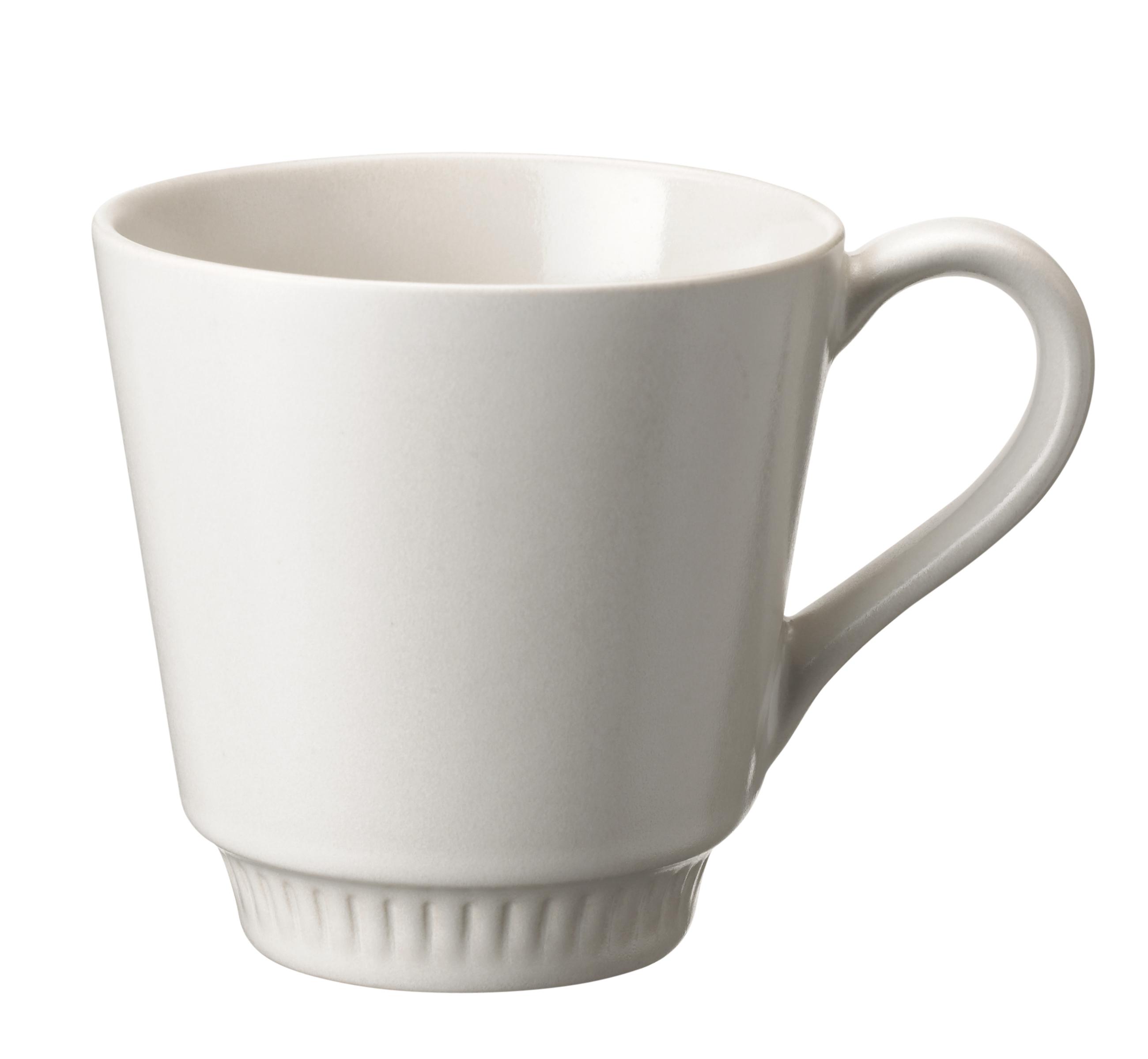 Knabstrup Tasse weiß