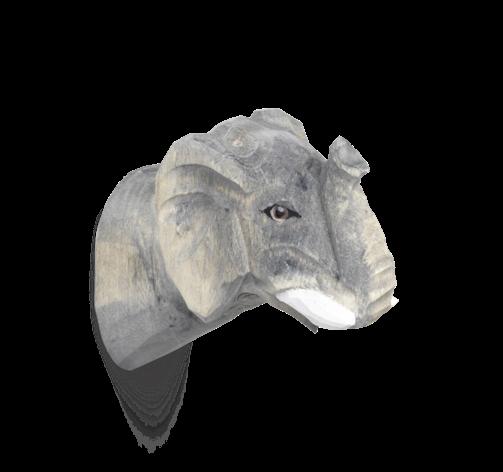 ferm living Animal Hook Elefant