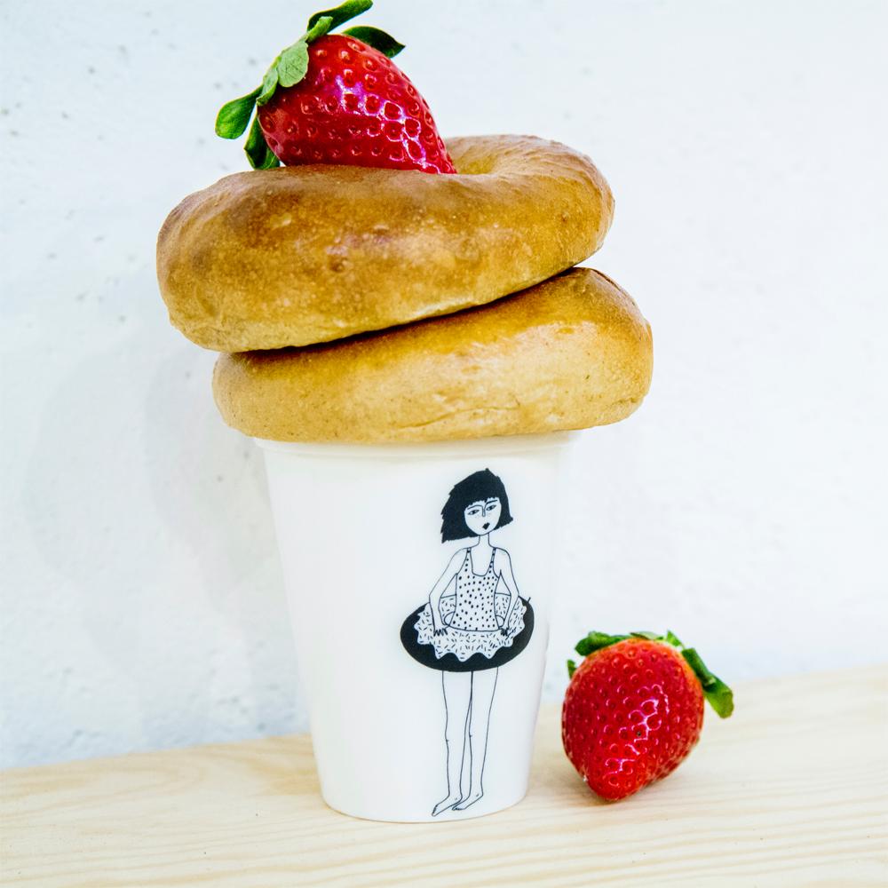 helen b Becher Donut Girl
