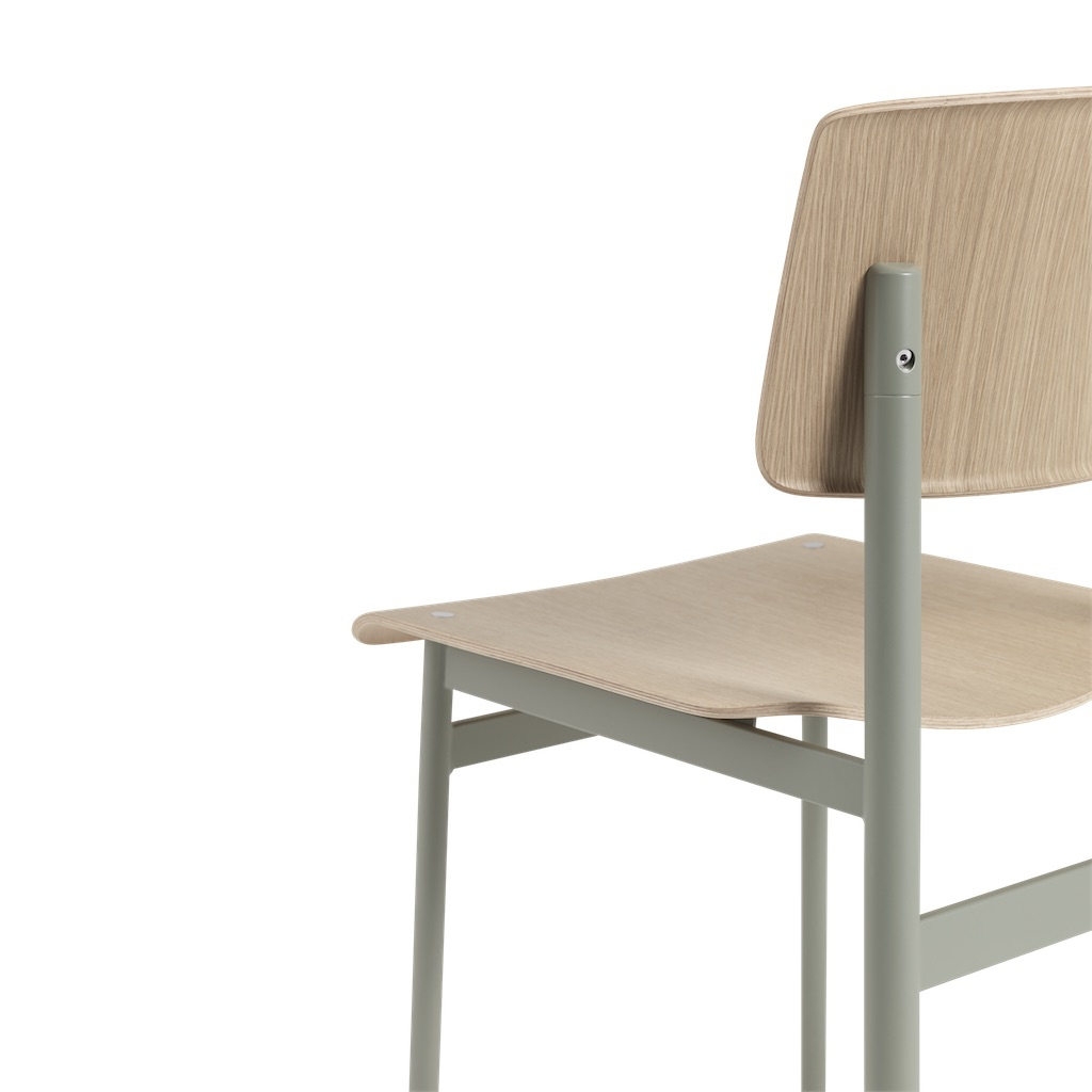 muuto Loft Chair oak/ white