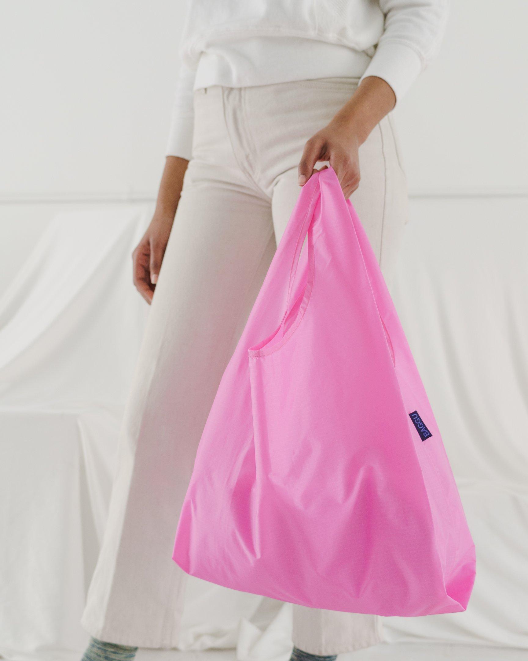 AGGU Einkaufsbeutel  Pink