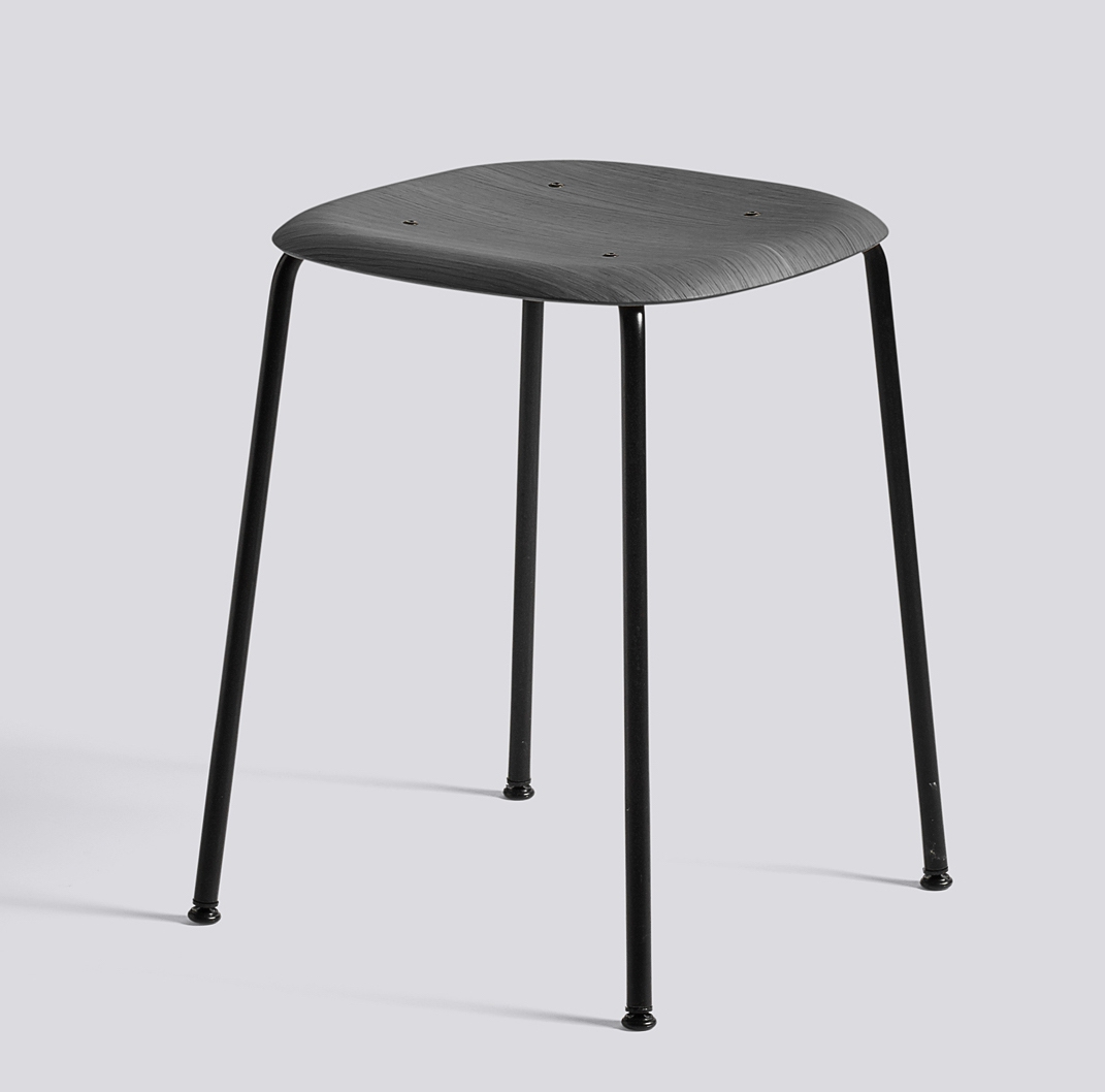 HAY Hocker Soft Edge 70 soft black