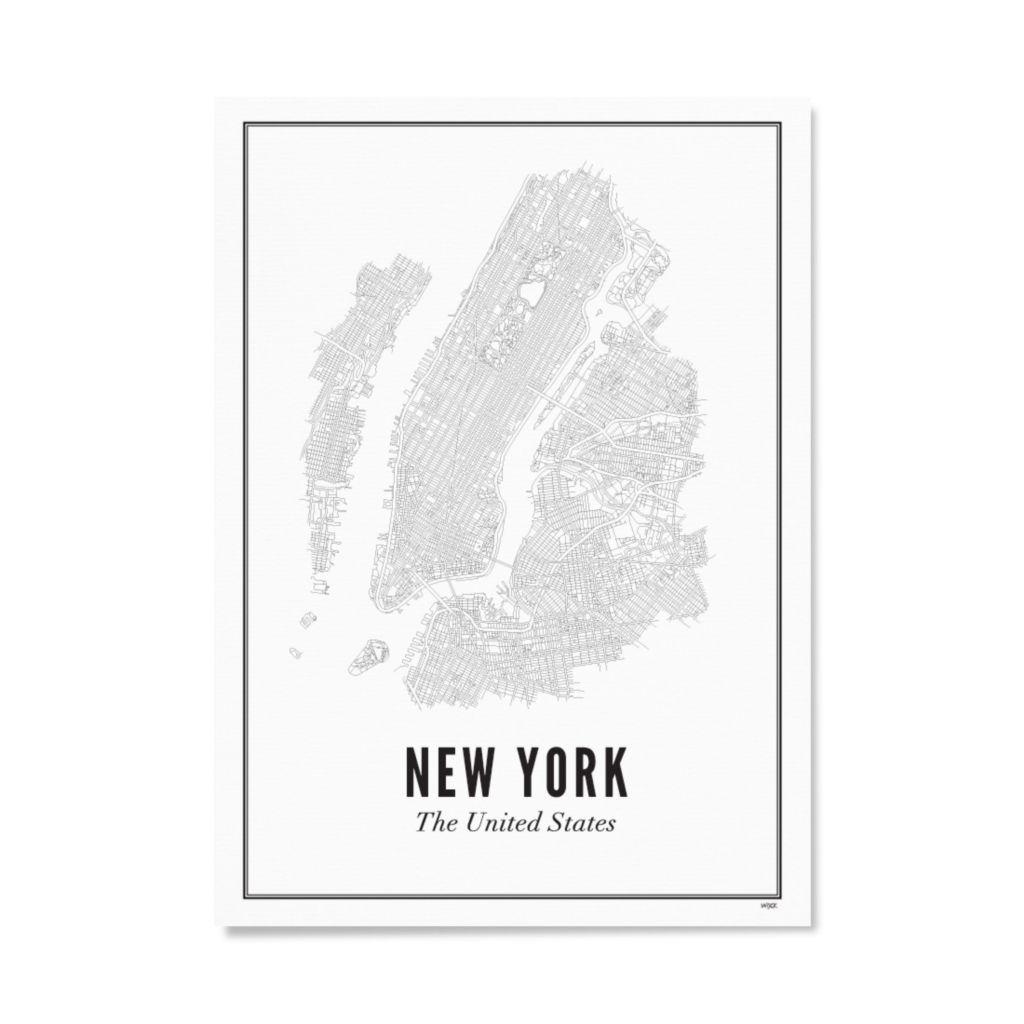 Wijck Poster New York 21x30cm