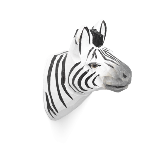 ferm living Animal Hook Zebra