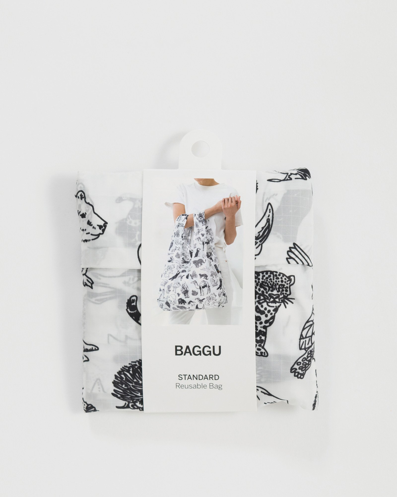 BAGGU Einkaufsbeutel Zoo