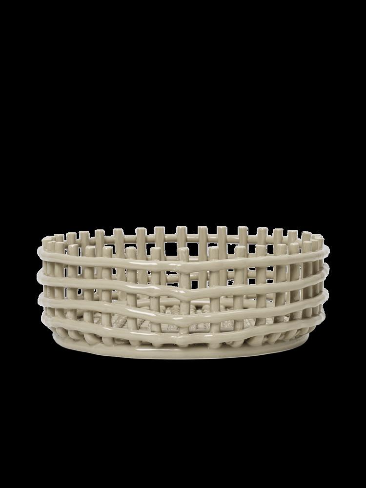 ferm living Ceramic Centerpiece cashmere