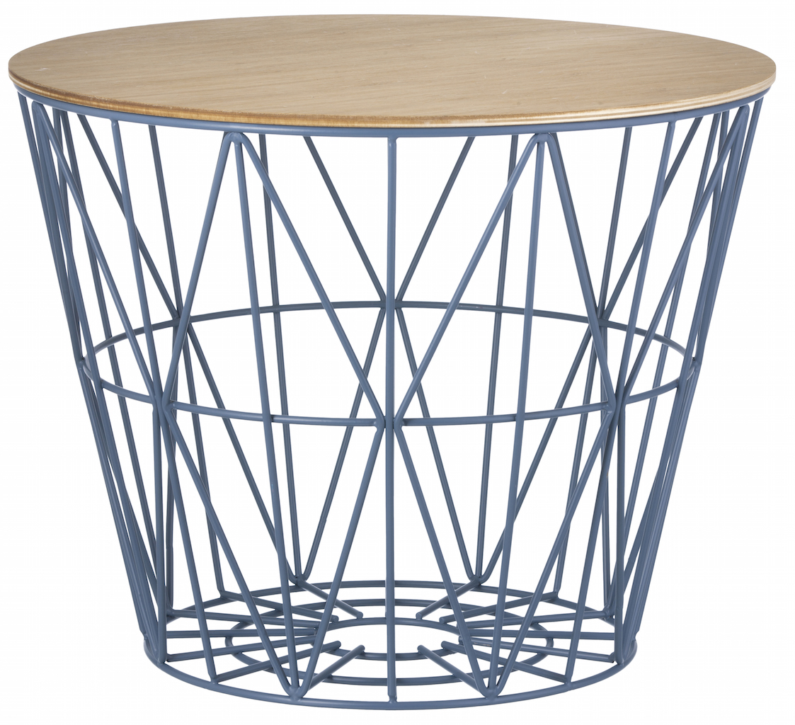 ferm living Wire Basket Top large Eiche geölt