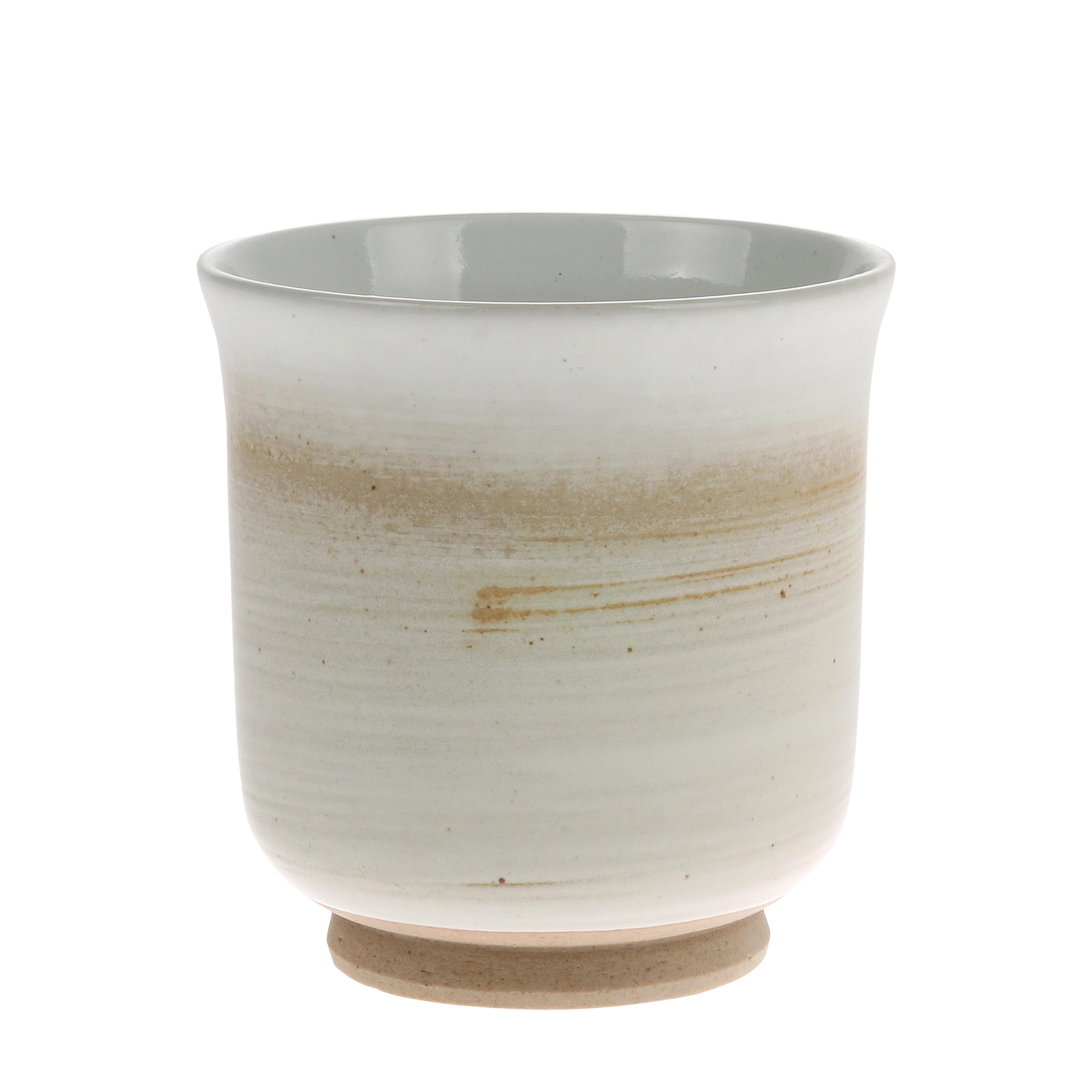 HK Living Kyoto Ceramics Becher creme white