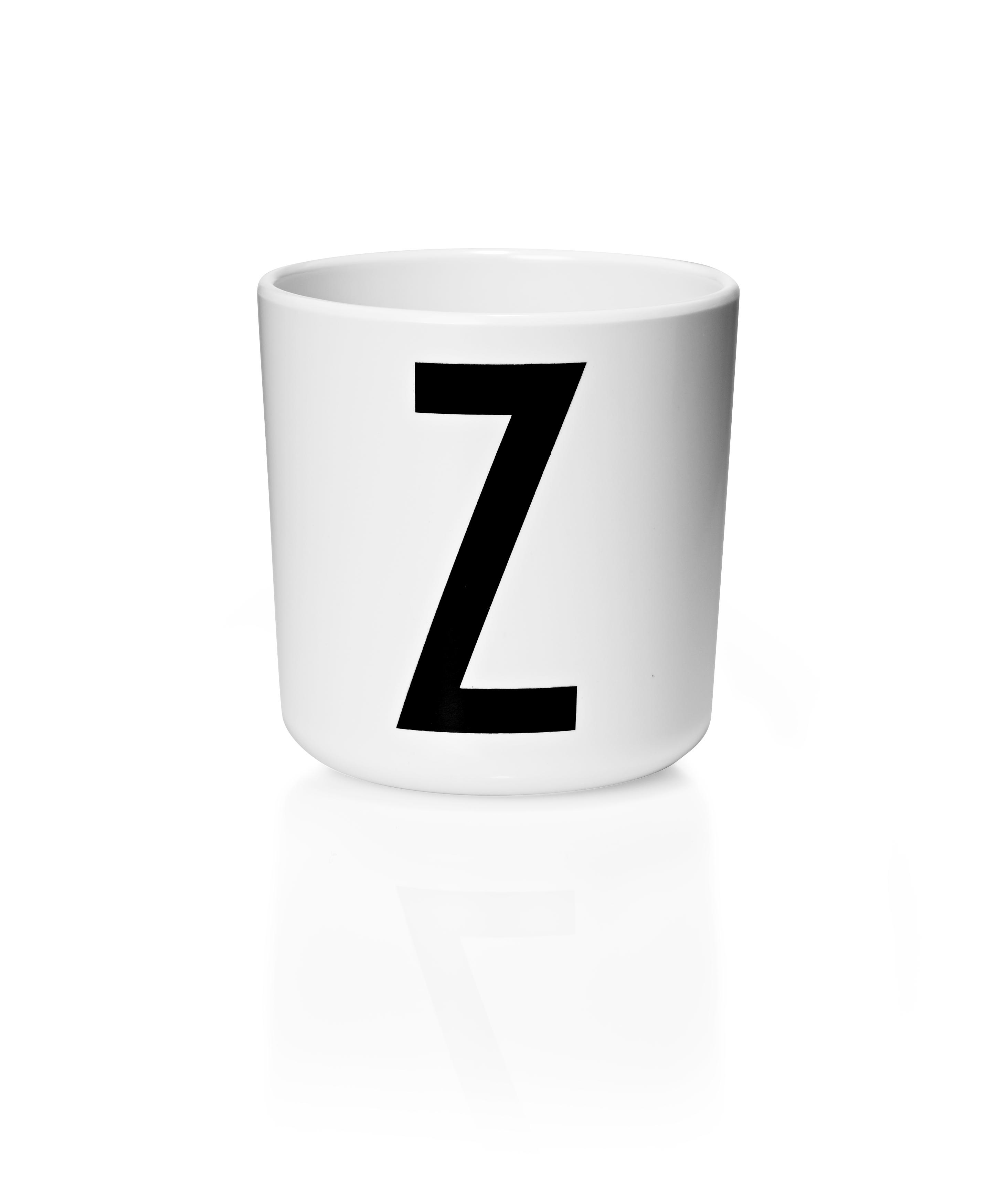 DESIGN LETTERS Melaminbecher A-Z für Kinder
