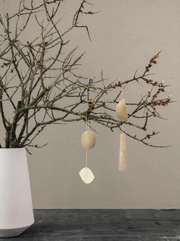 ferm living Anhänger Twin half moon Ornament