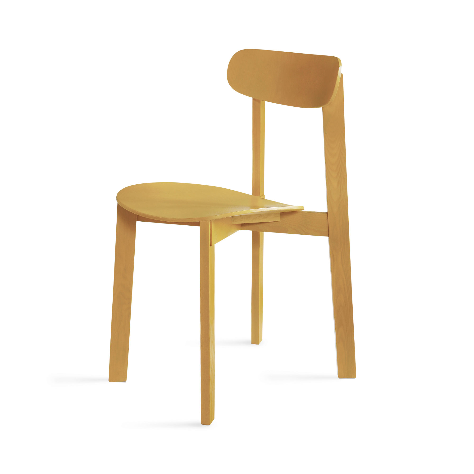 PLEASE WAIT to be SEATED Stuhl Bondi Turmeric Yellow