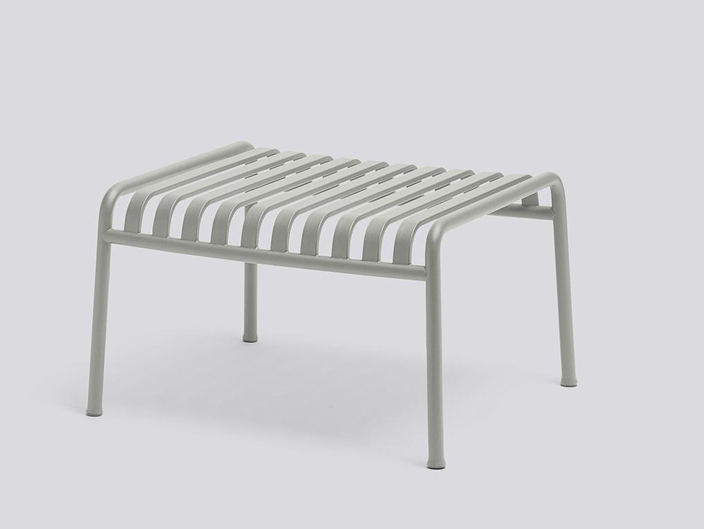 Hay Loungechair Ottoman grey
