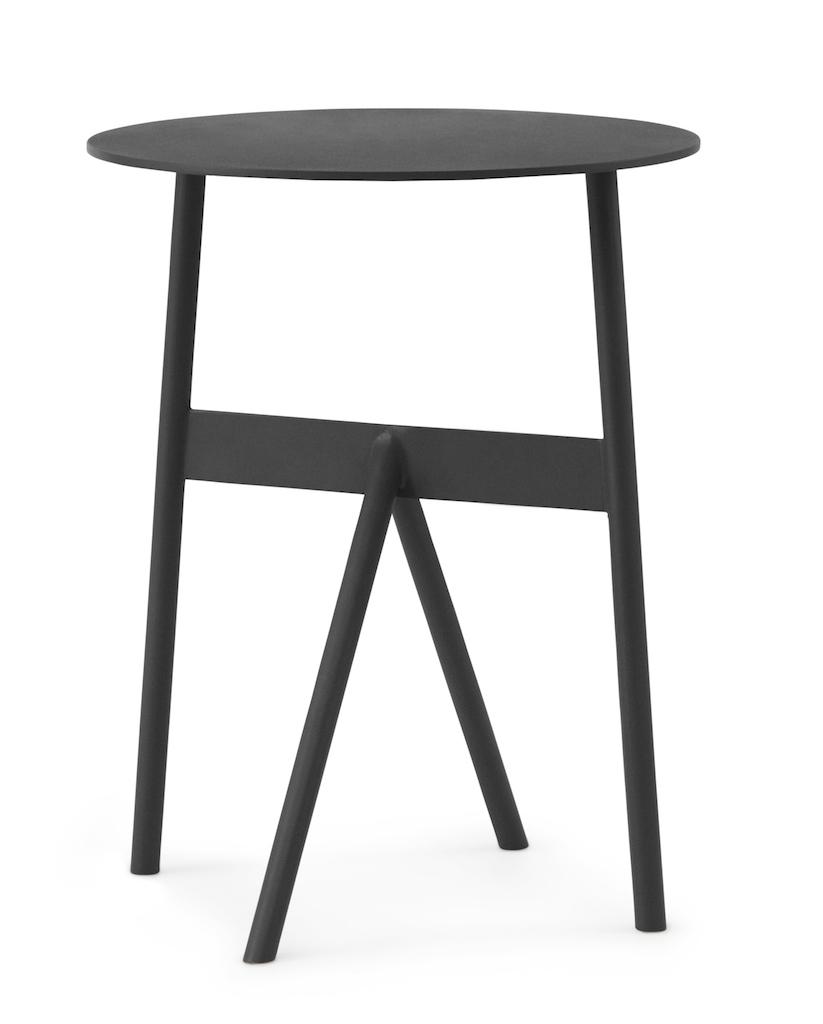 normann copenhagen Stock Tisch schwarz