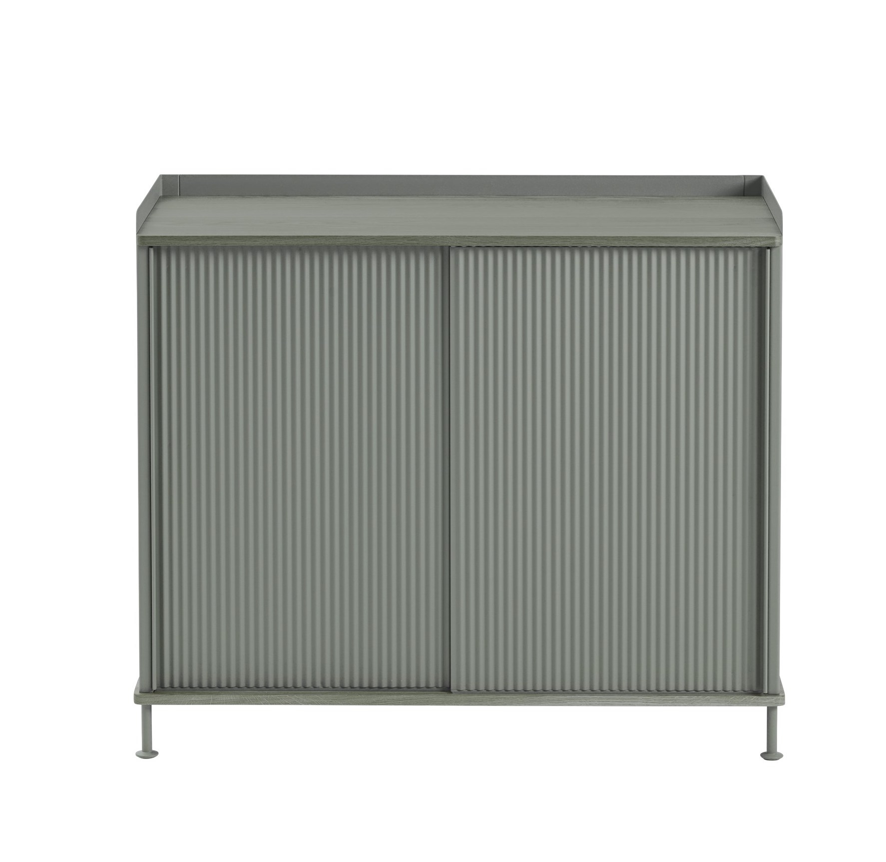muuto Enfold Sideboard schmal dusty green