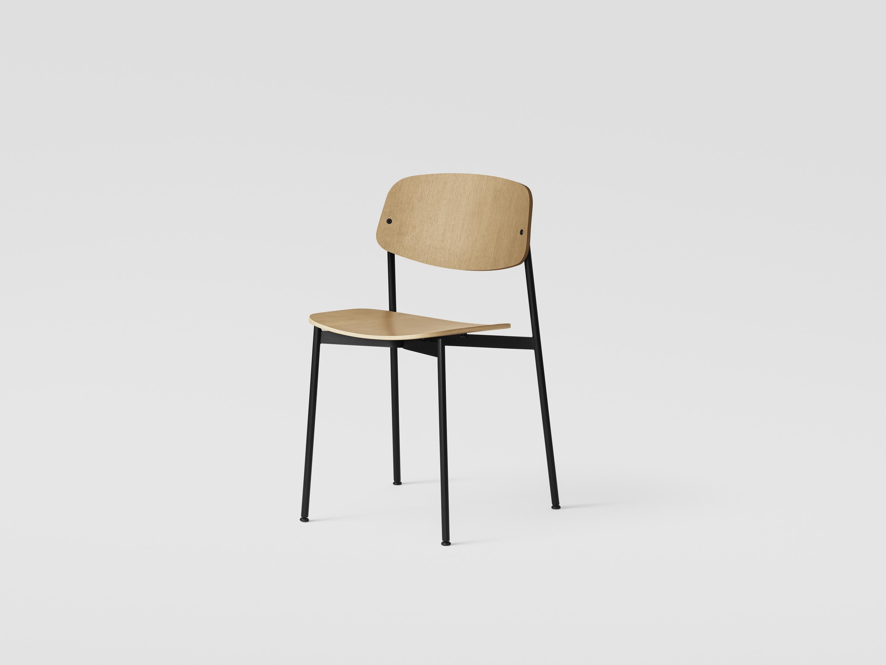 Million Copenhagen Today Chair Eiche / Schwarz