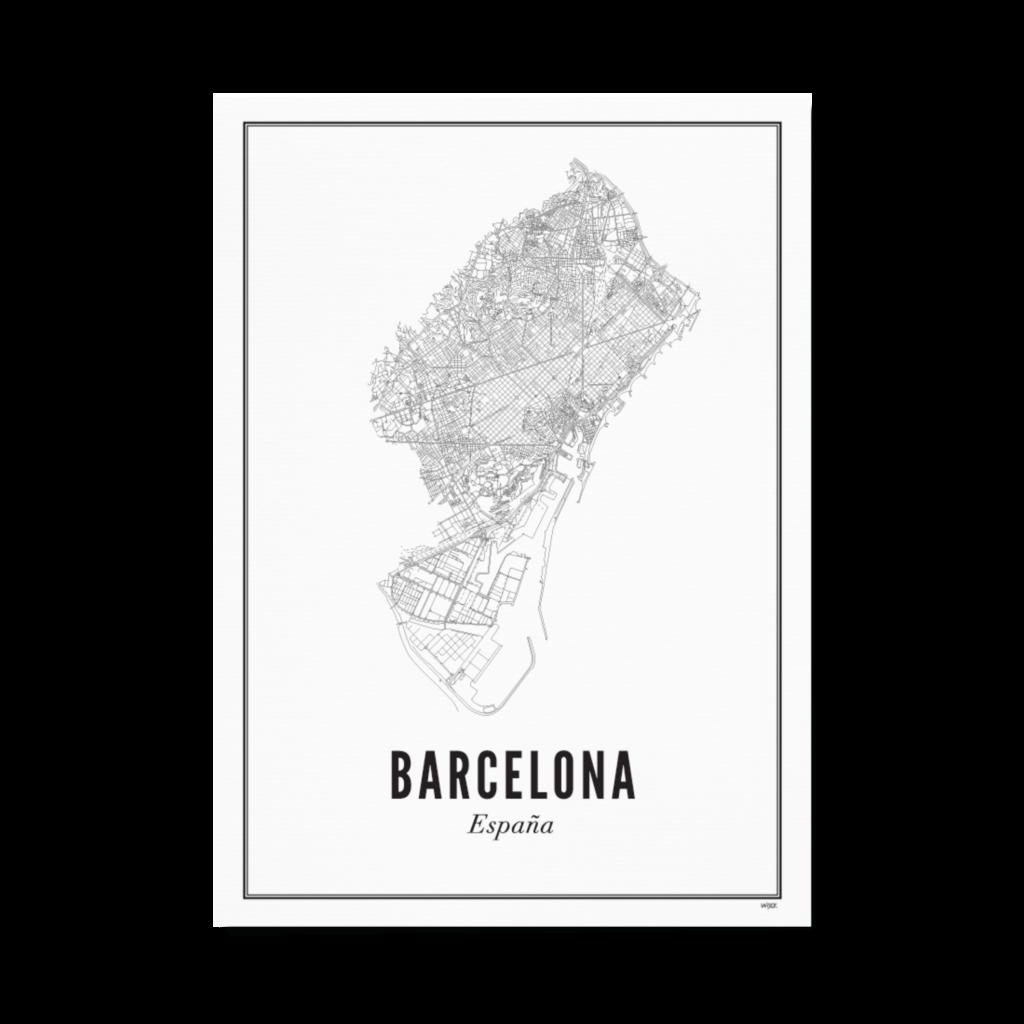 Wijck Poster Barcelona 40x50cm