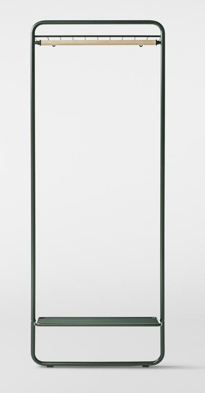 Million Libertine Garderobe dunkelgrün
