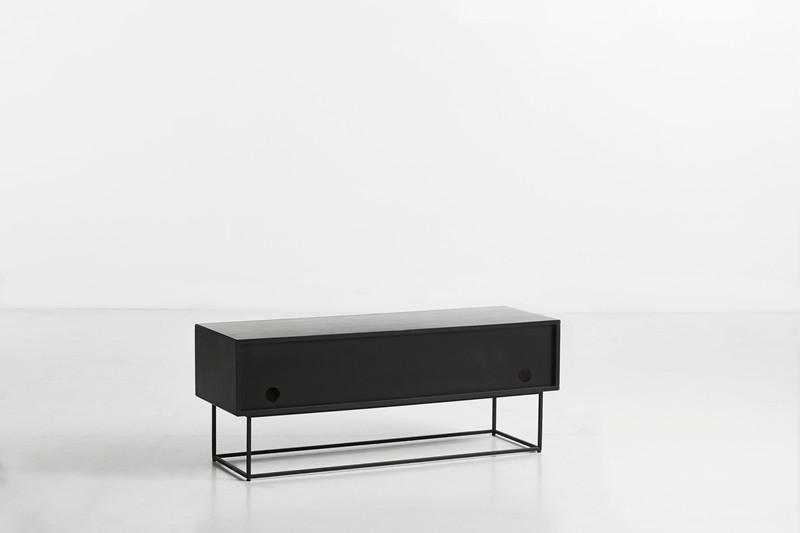 Woud Sideboard Virka Eiche/ schwarz