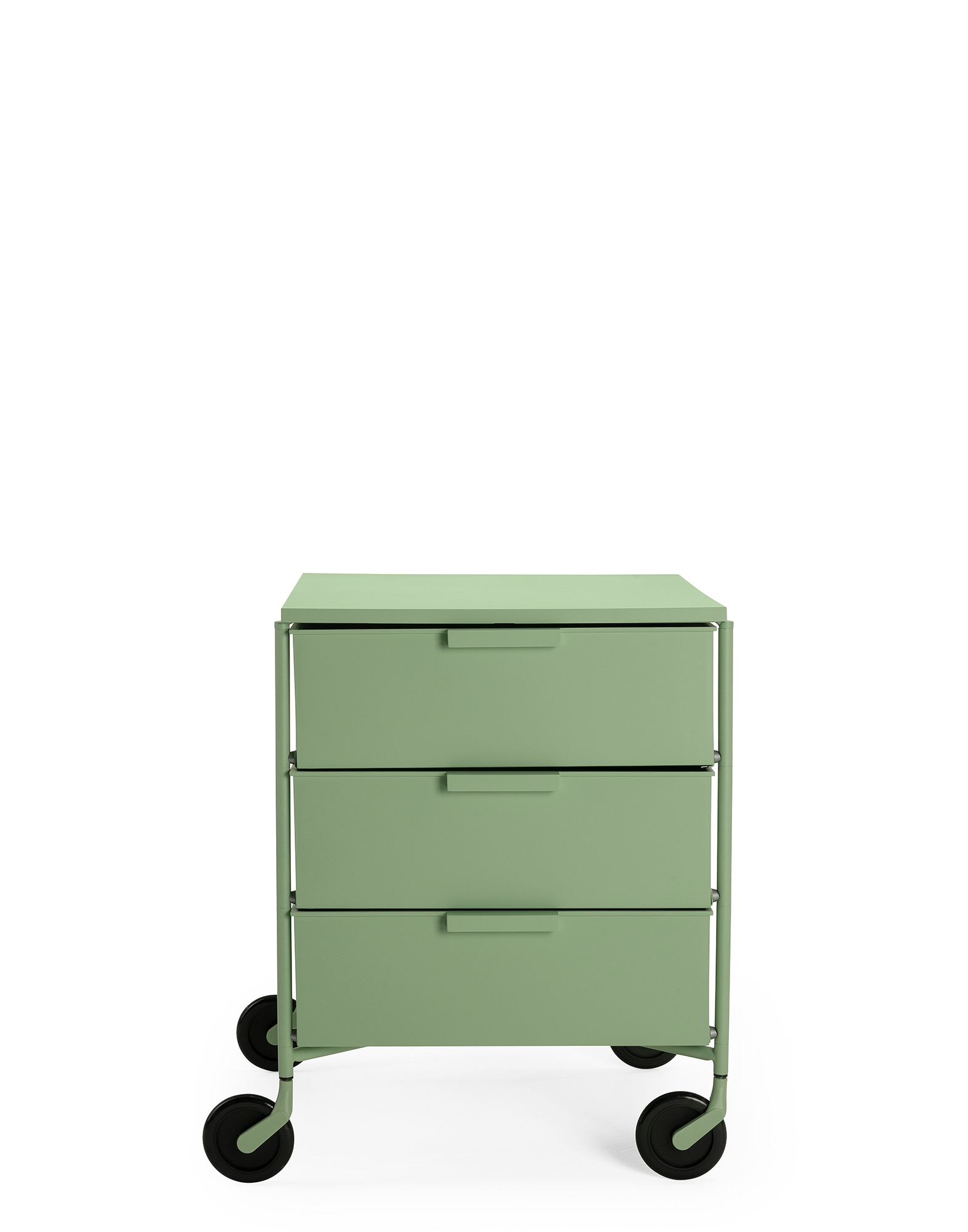 Kartell Rollcontainer Mobil matt grün