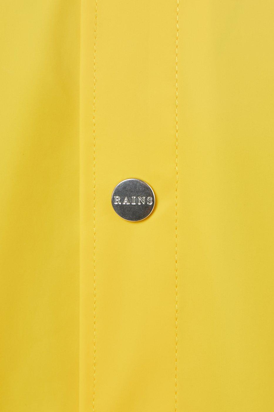 Rains Long Jacket yellow unisex XS/S