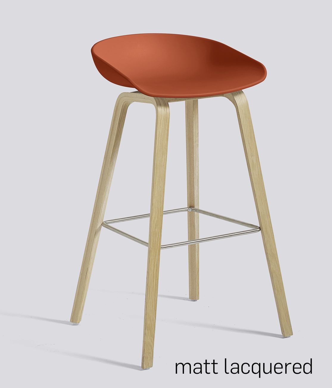 HAY About a Stool 32 Eiche orange