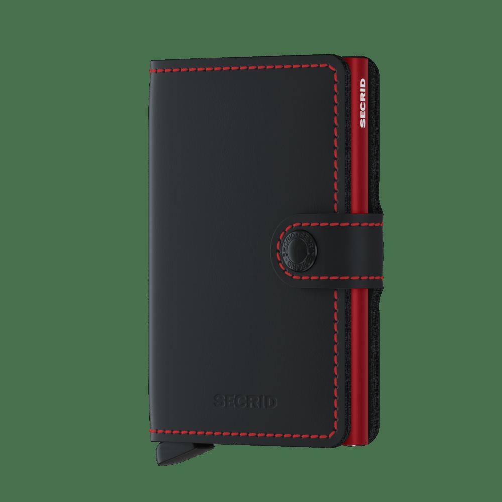 Secrid Miniwallet Matte Black Red