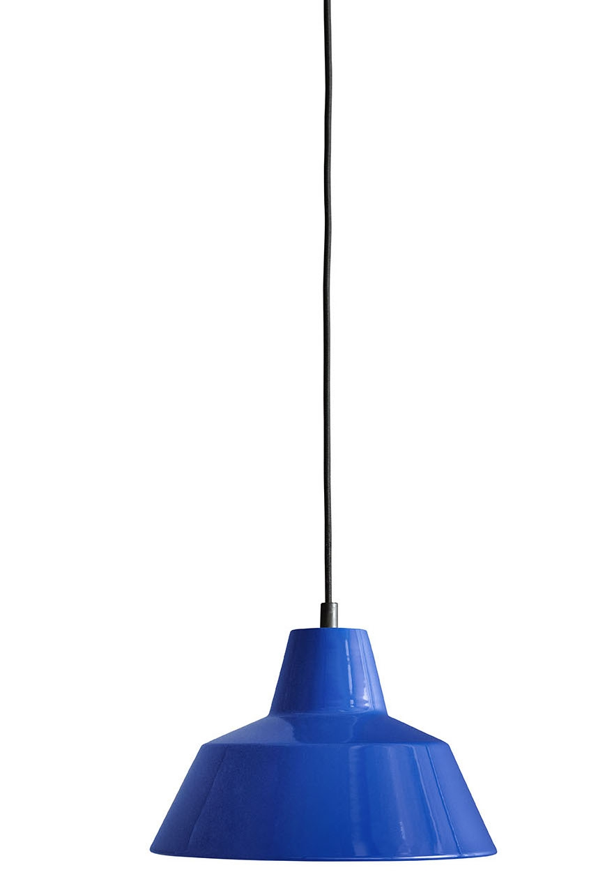 Made by Hand Workshop Lamp W2 blue