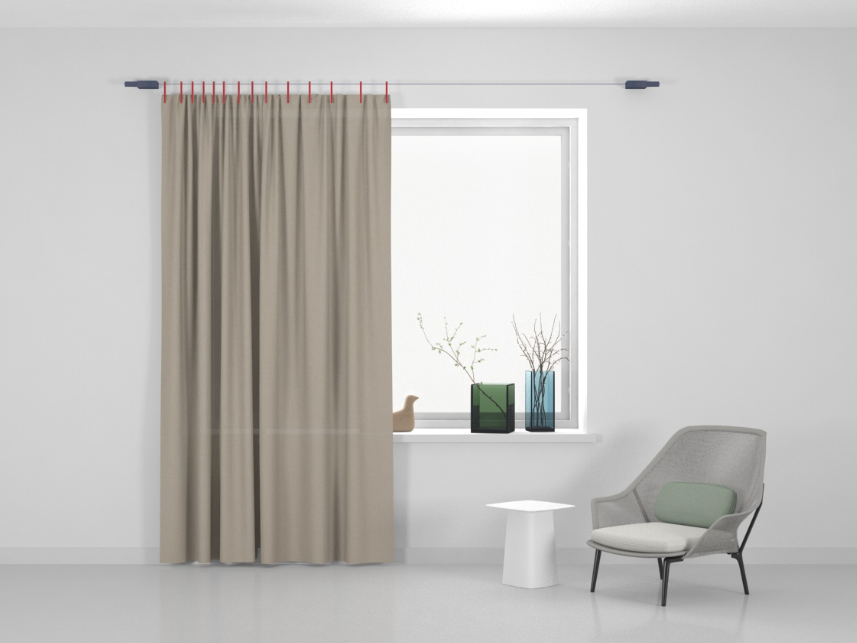 Kvadrat Ready made curtain Stoff Haze 204