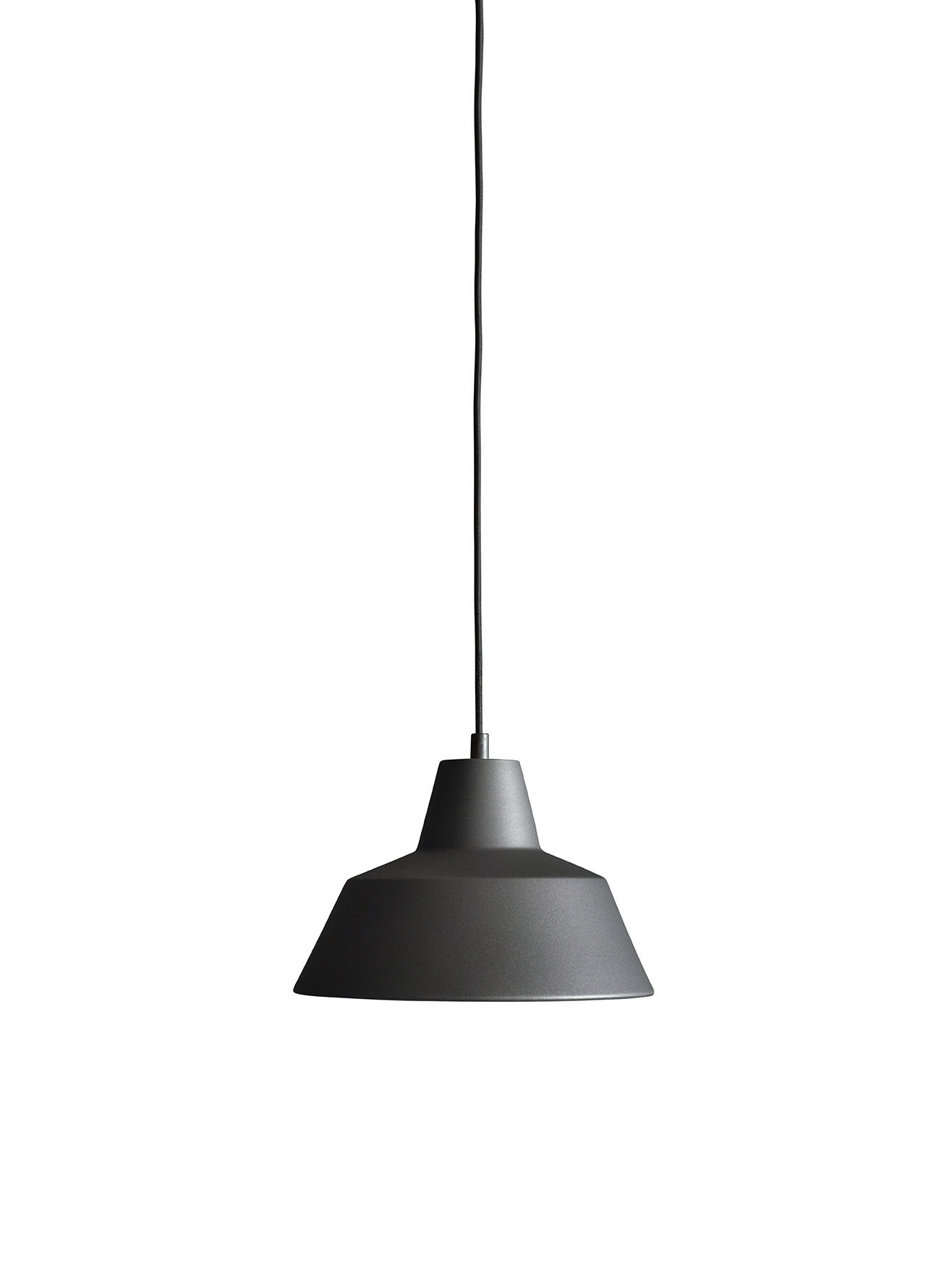 Made by Hand Workshop Lamp W2 anthrazit schwarz