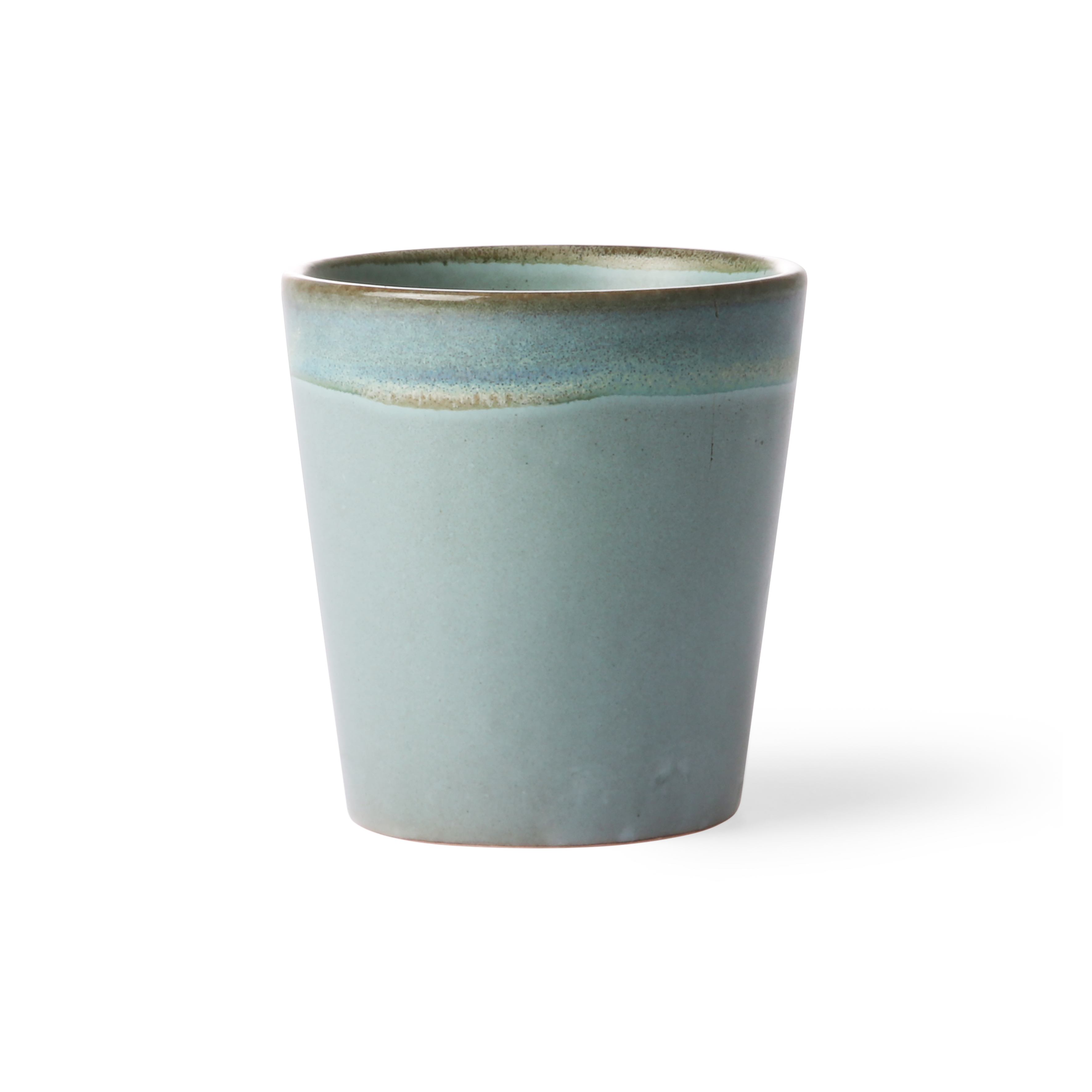 HK Living Ceramic 70's Becher moss