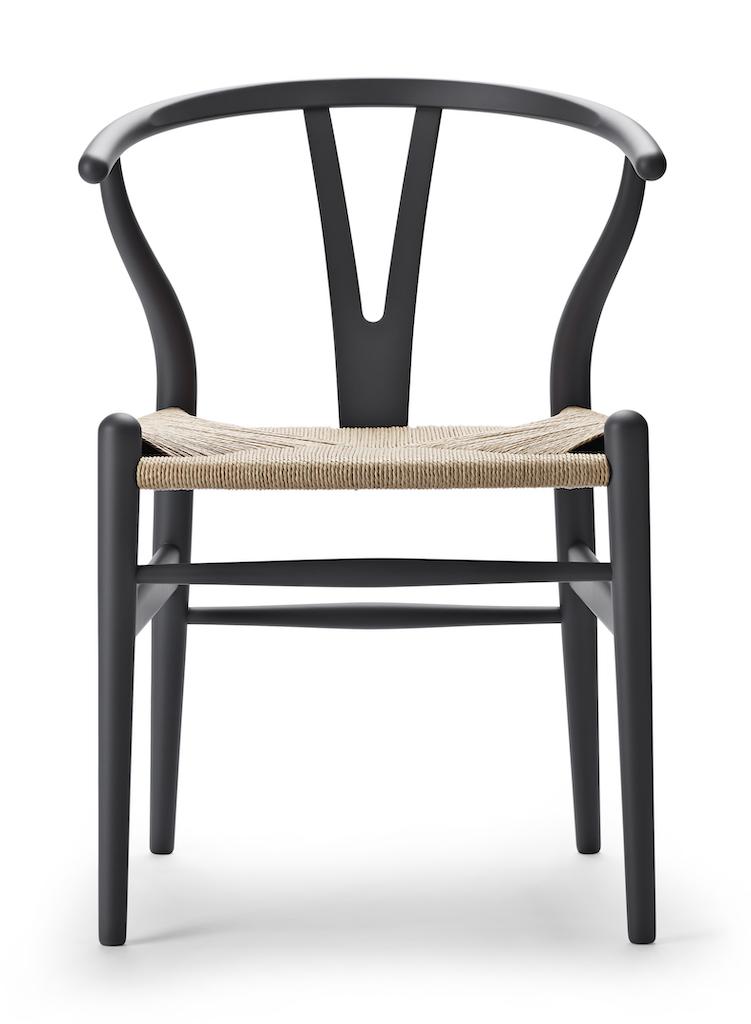 Carl Hansen CH 24 soft grey  Wishbone Chair