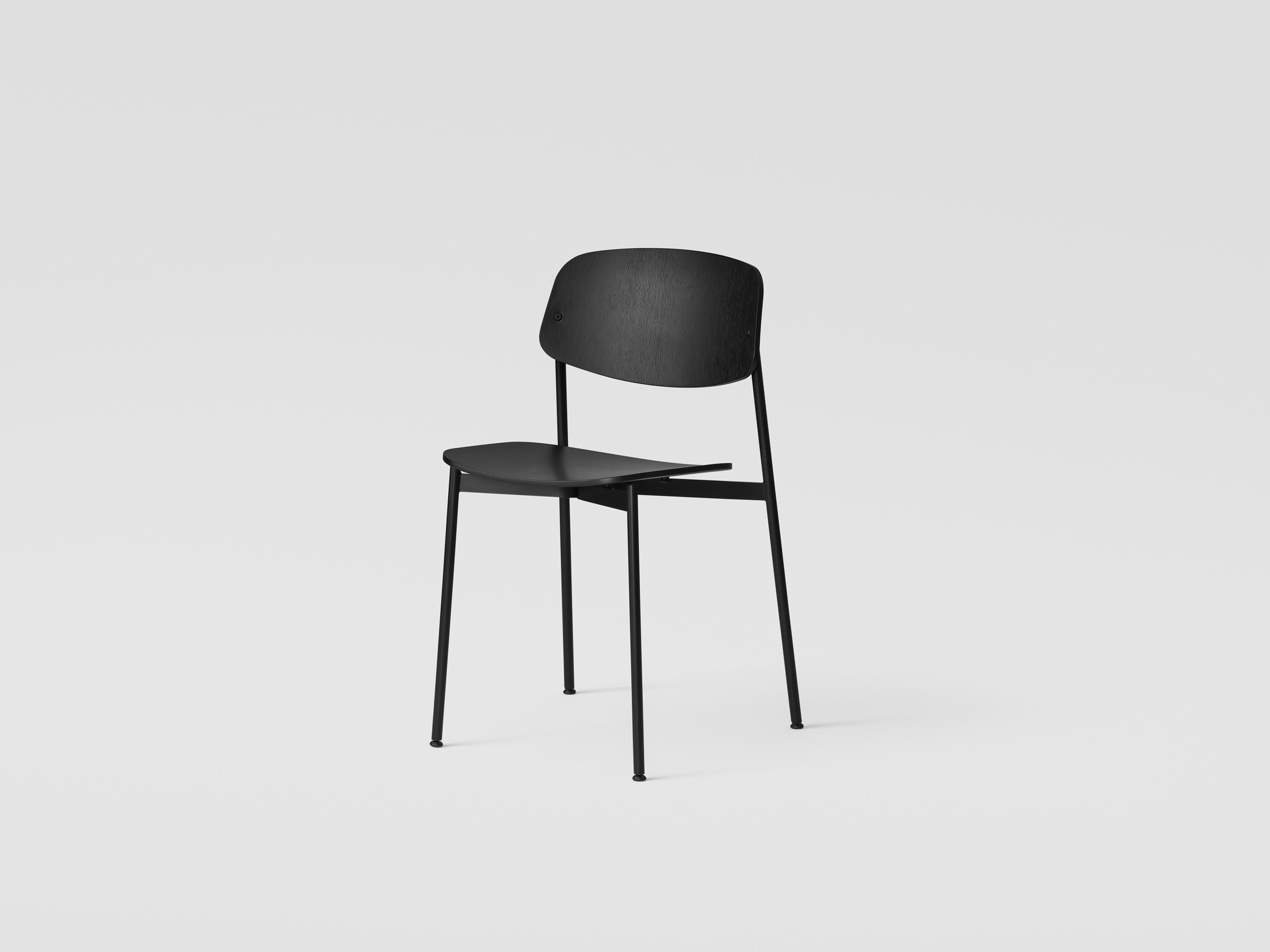 Million Copenhagen Today Chair Eiche schwarz gebeizt / Schwarz