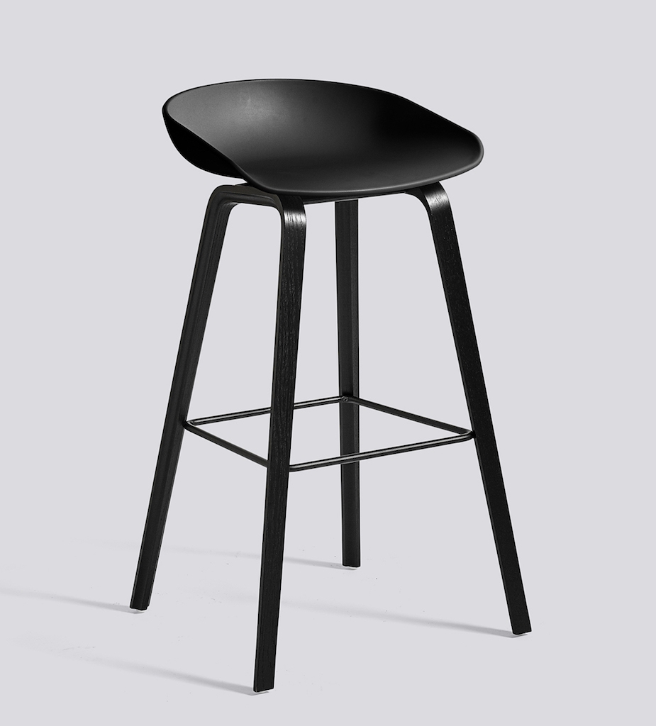 HAY About a Stool 32 schwarz