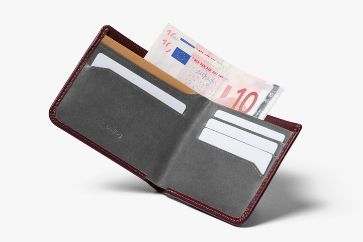 Bellroy Wallet Hide & Seek Wine