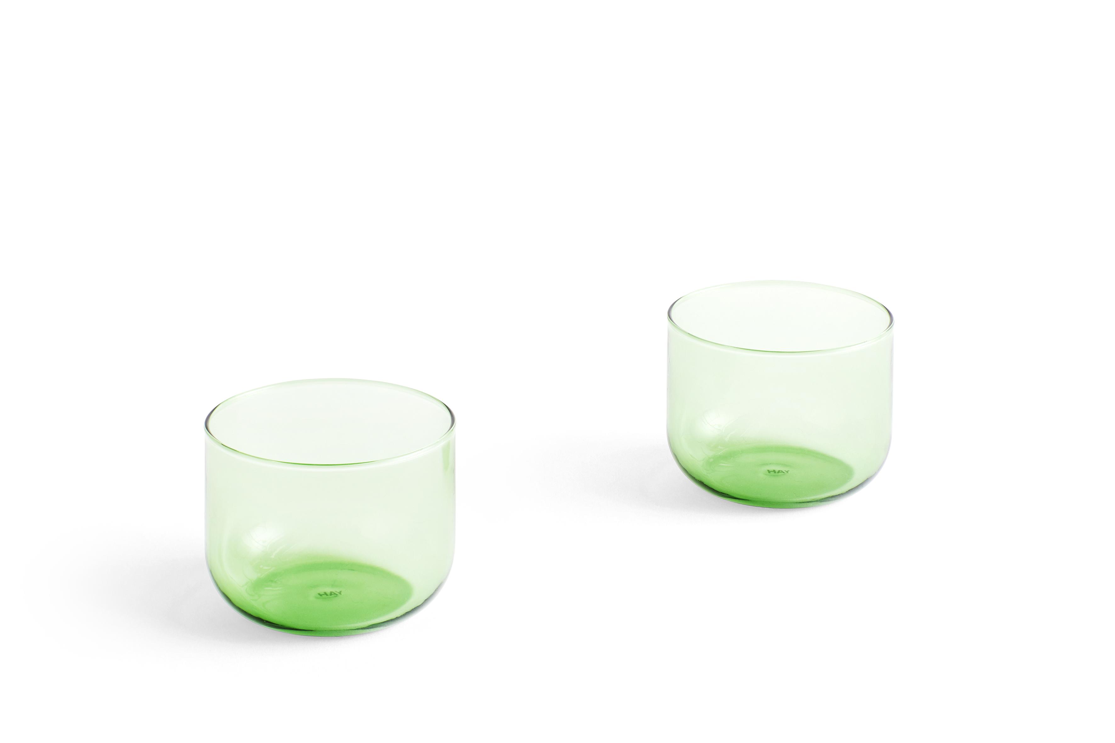 HAY Tint Glas 2er Set grün