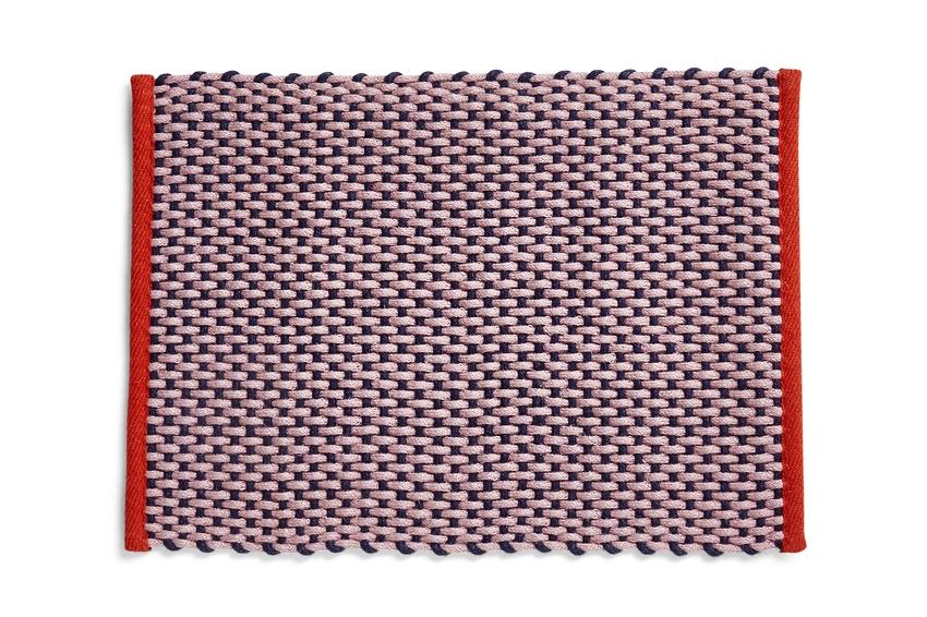 HAY Fußmatte pink