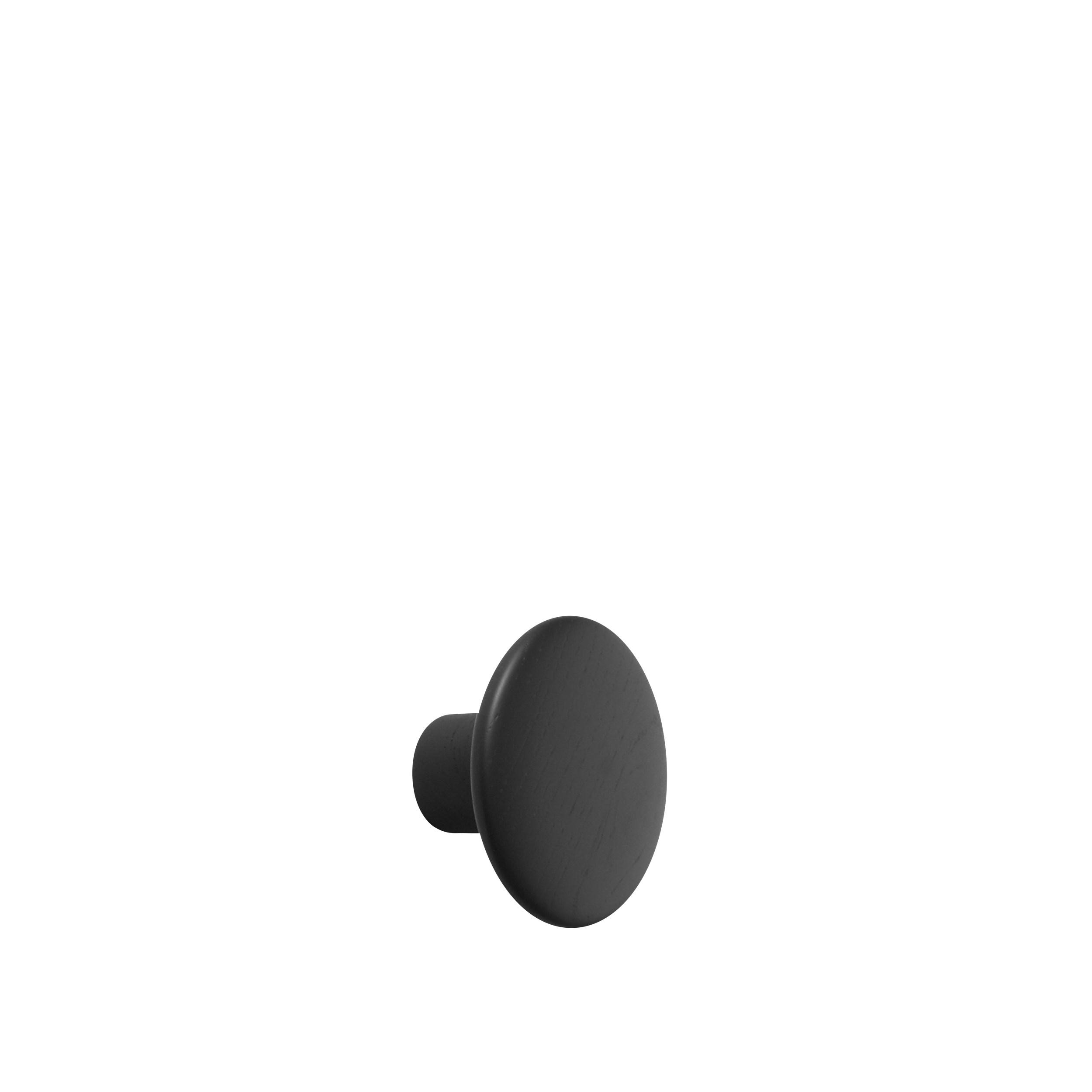 Muuto Dots Wandhaken black s